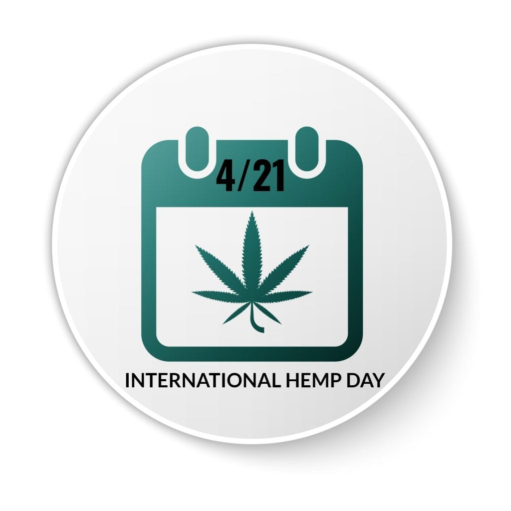 International Hemp Day calendar