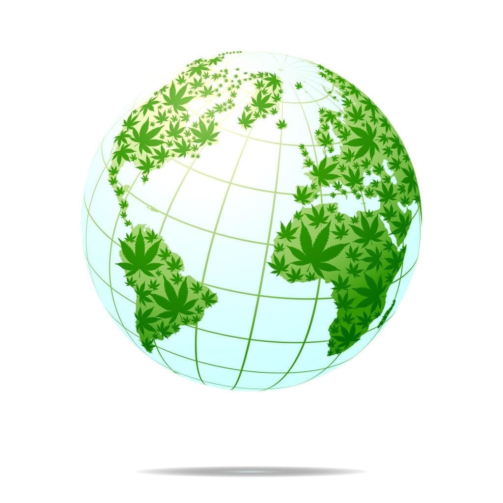 International Hemp Day globe