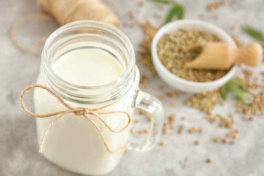jar hemp milk
