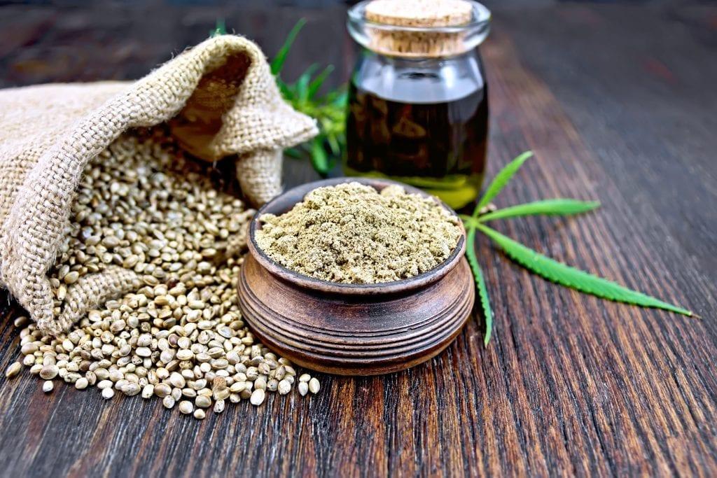 organic hemp food