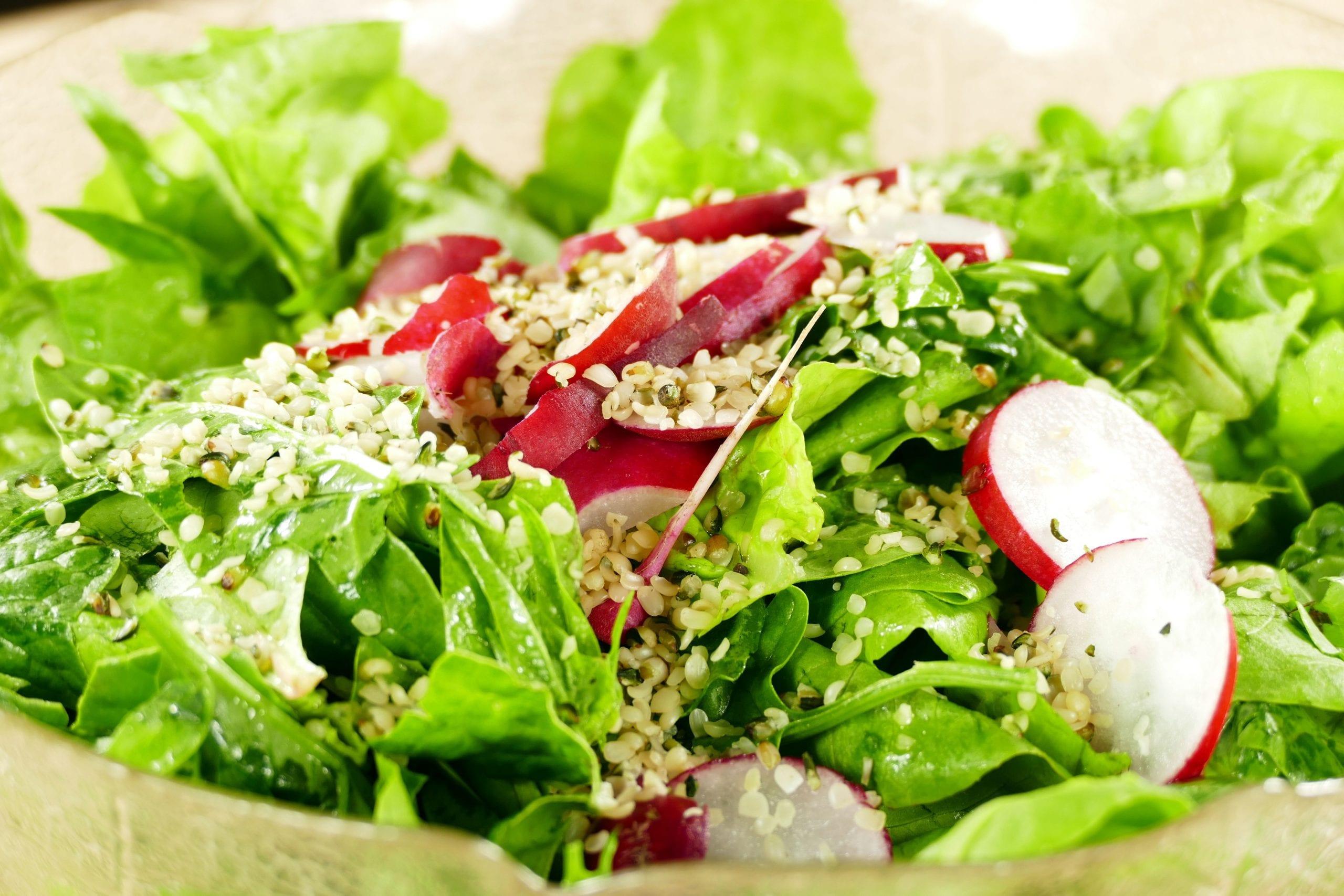 healthy hemp salad