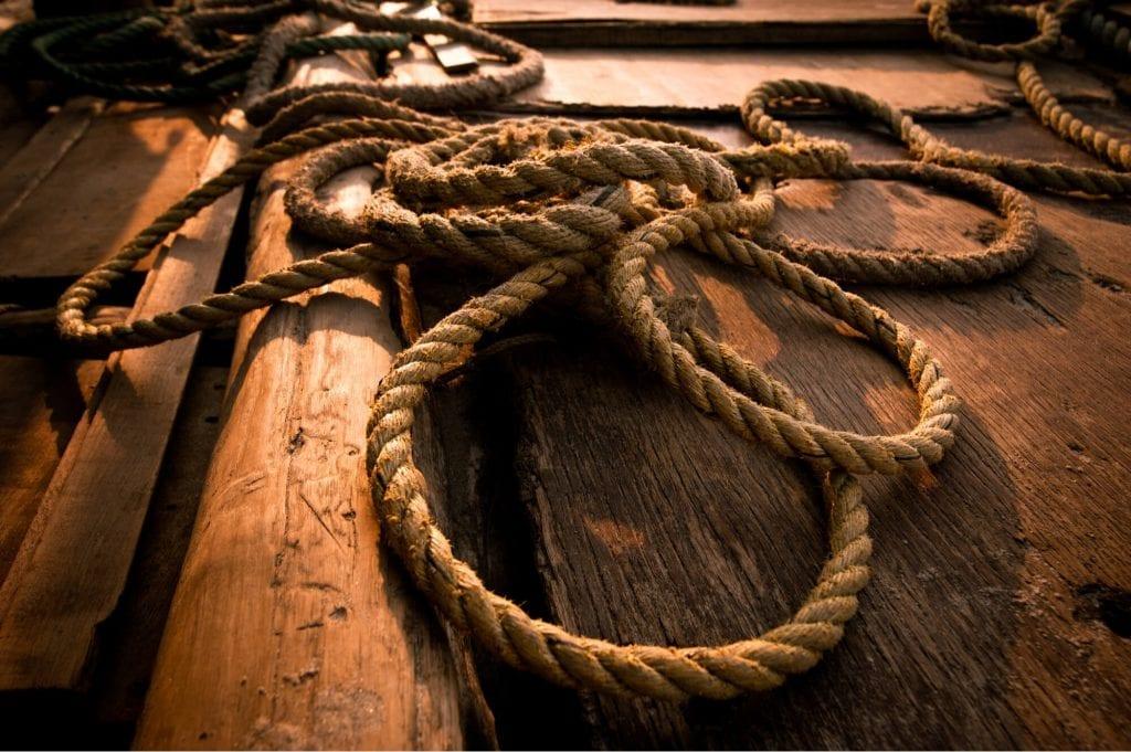 hemp rope for marine equipment