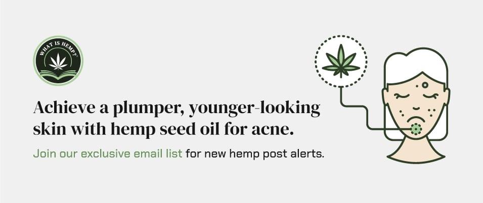 hemp seed oil for acne